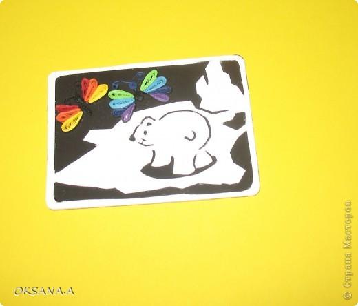 """Вот такое письмо я получила из игры """"АТСзаказывали"""", которую организовала Ника Конопацкая. Прислала его мне Ирина Садыкова из г.Набережные Челны. Моя тема была """"медвежата или бабочки"""". фото 2"""