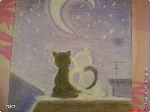 Мой  первый рисунок пастелью фото 2