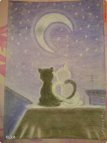 Мой  первый рисунок пастелью фото 3