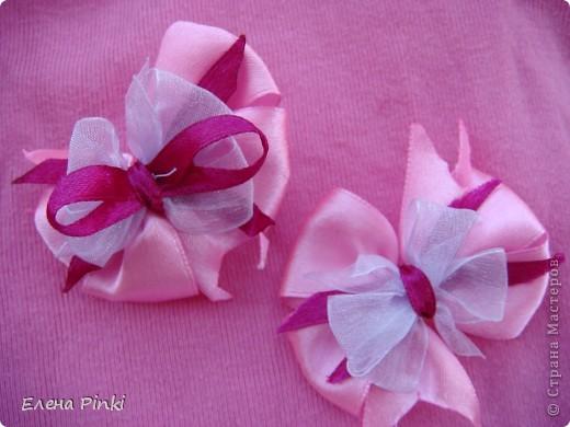 Вот таких бантиков я нашила для дочурки!!!Спасибо большое за МК который я нашла здесь http://stranamasterov.ru/node/68137?c=favorite фото 8