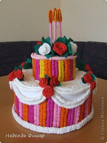 """Вот такой тортик """"испекла"""" для племянницы. фото 1"""