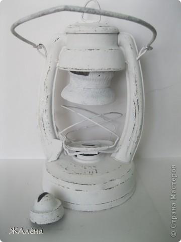 Вот такую красивую,старую,но очень ржавую лампу мне подарили... фото 5