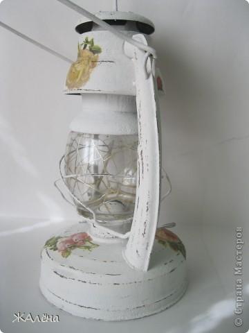 Вот такую красивую,старую,но очень ржавую лампу мне подарили... фото 8