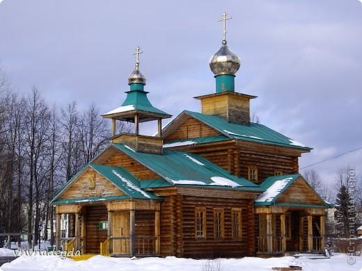 Наш красавец храм в честь св.прп.Варнавы Ветлужского. фото 1