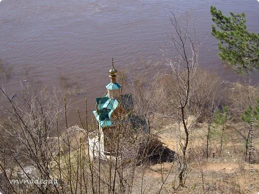 Наш красавец храм в честь св.прп.Варнавы Ветлужского. фото 2