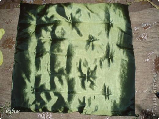 вот так я изменила, украсила  подушку  для Кетти фото 2