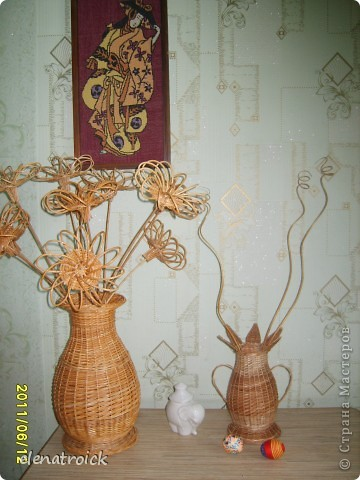 птица счастья,ваза цветок и ваза с цветами. фото 3