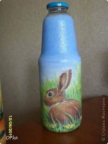 Вот такие бутылочки под молоко и не только у меня получились. фото 3