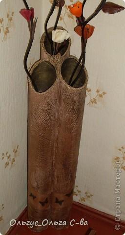 Моя проба изготовления вазы по МК Наташи Радуги http://stranamasterov.ru/node/150206?c=favorite фото 4
