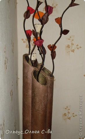 Моя проба изготовления вазы по МК Наташи Радуги http://stranamasterov.ru/node/150206?c=favorite фото 5