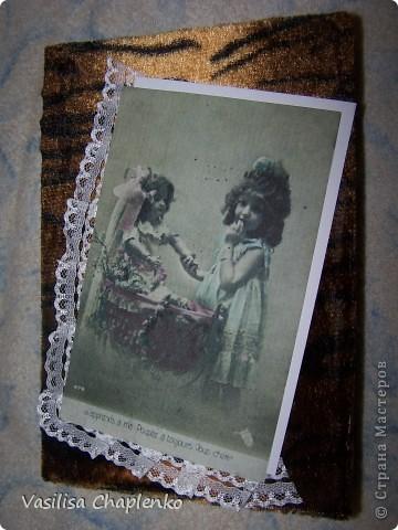 Сегодня просто день законченных работ :0))) Вот еще одна книга-шкатулка. Это обложка... фото 1