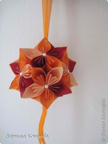 Цветы  заготовки+кусудама фото 5