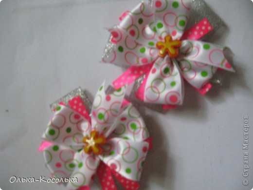 Мои новые заколочки и бантики для Малышки! фото 6