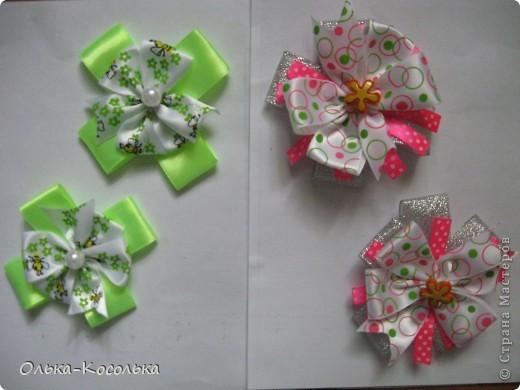 Мои новые заколочки и бантики для Малышки! фото 5