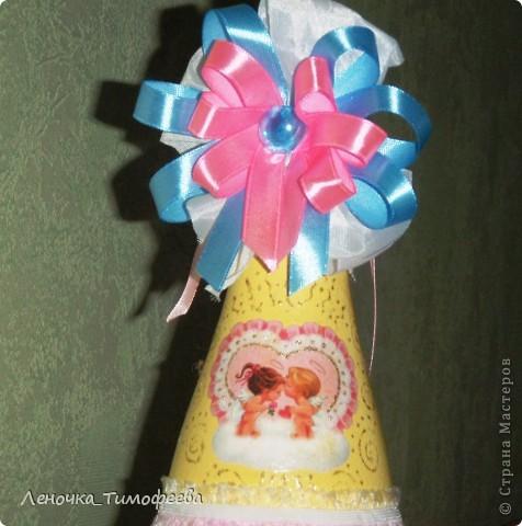 """Бутылочка """"С новорожденным"""". Можно подарить на день рождения малыша. А мы разыгрываем на свадьбе в качестве приглашения на обмывание ножек будущему ребеночку.  фото 3"""