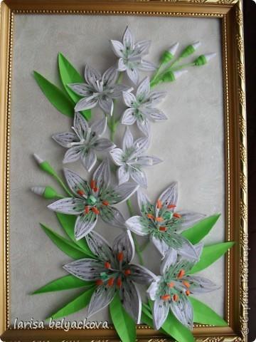 Лилии по МК Пылинки. фото 1