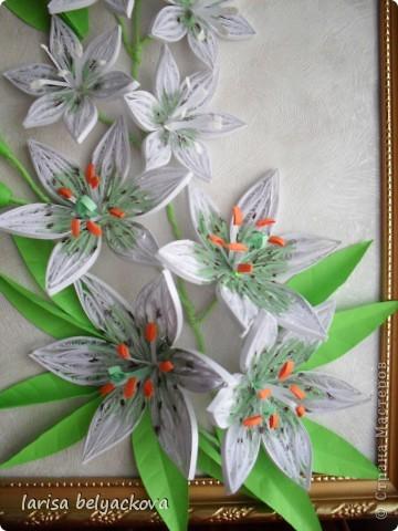 Лилии по МК Пылинки. фото 2