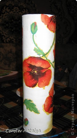 Вот такую бутылку-вазу я делала в прошлом году. фото 3