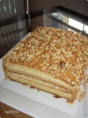 "Торт "" Сгущённик"" фото 2"