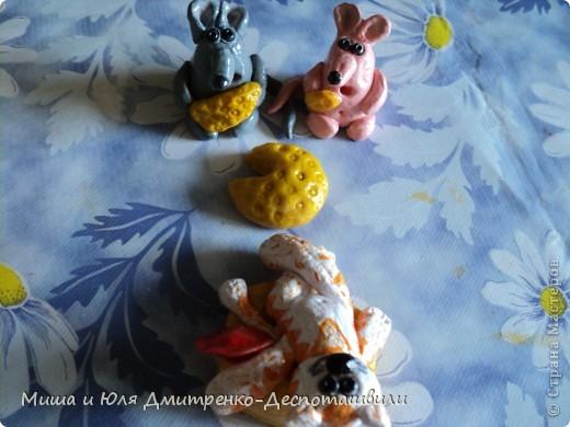 Вот мои свежевылепленые мукосолики. Стишек, сочиненный мною к ним, Вы найдете ниже, а пока знакомтесь! фото 6