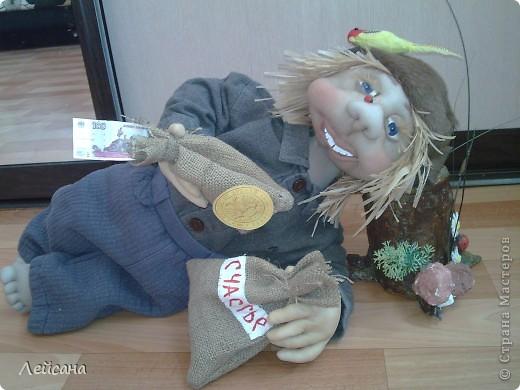 Этот домового делала на выставку-продажу на сабантуй, только он не доехал до неё. Выпросили :))) фото 5