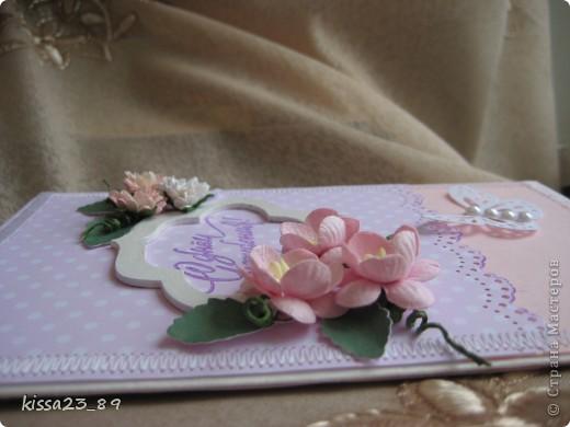 Открыточка для молодой девушки. фото 7