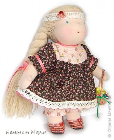 Вальдорфская кукла Василиса