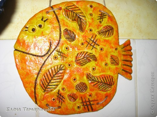 Рыба-осень, попросили сделать большого размера. фото 1