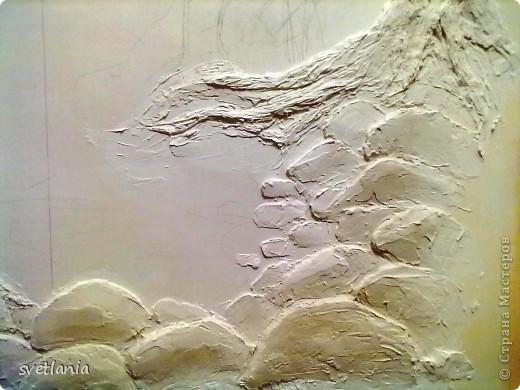 моя работа над барельефом на стене фото 5