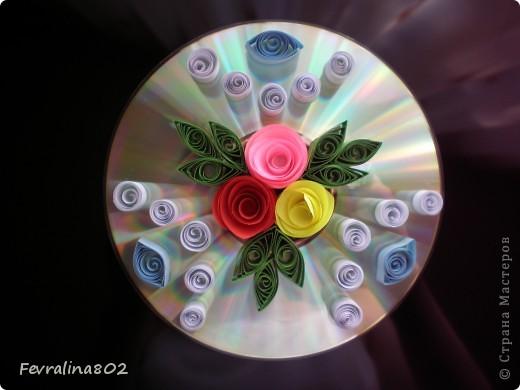 Розочки на диске фото 3