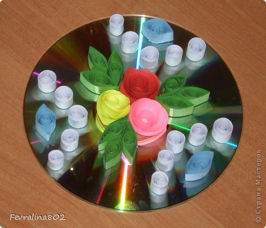 Розочки на диске фото 4