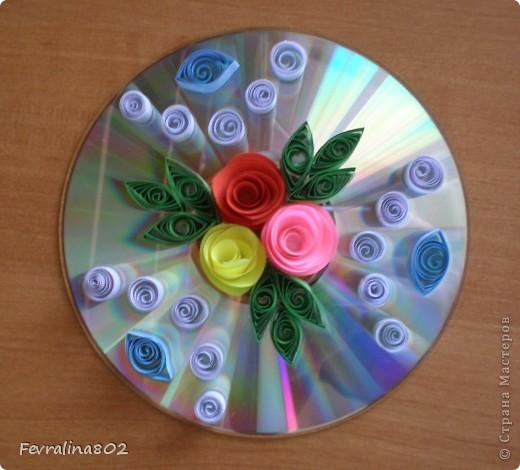 Розочки на диске фото 5