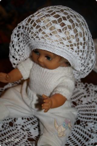 Этот беретик мне тоже очень понравился и я решила его связать! Спасибо Ирине за такие замечательные беретики(http://stranamasterov.ru/node/198409). фото 3