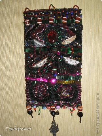 Вышивка бисером:стеклярусом,рубкой,круглым.Ракушки и различные подвески фото 2