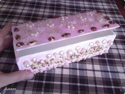 Из коробок из под сока можно сделать очень много красивых и нужных вещей. Предлагаю сделать шкатулку. фото 7