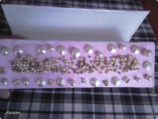 Из коробок из под сока можно сделать очень много красивых и нужных вещей. Предлагаю сделать шкатулку. фото 6