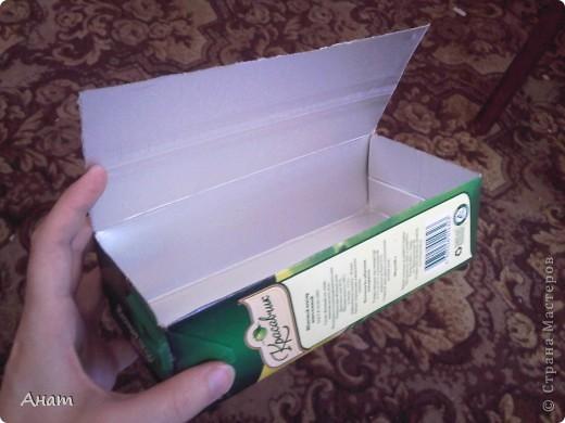 Из коробок из под сока можно сделать очень много красивых и нужных вещей. Предлагаю сделать шкатулку. фото 3