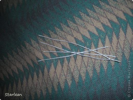 нам понадобиться: - ткань креп-сатин - гипюр -термолента(метражная для подшива брюк) - кусочек ткани для середки - проволока - гофр.бумага -клей ПВА - маркер черный фото 2