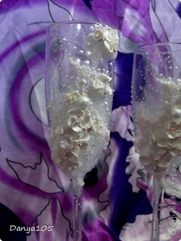 Реши сделать белые цветы а получились мило розово-кремовые, как у яблони фото 4