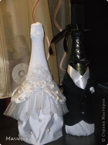 Вот такие жених и невеста получились у меня для свадьбы моего брата))) фото 1