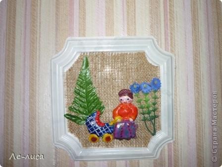 На Кубани празднуют не только День Матери, но и День Матери-Казачки. Поэтому все картины про кубанских казачек. Размеры всех коллажей в рамках из тряпичных косичек по внутреннему краю- 20х30 см.(-+ 1-2 см) фото 14