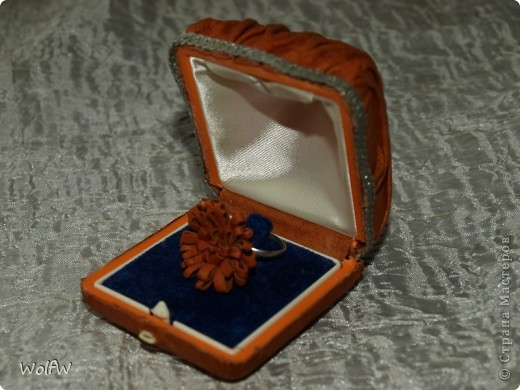 очередная коробка и кольцо фото 1