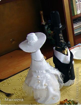 Вот такие жених и невеста получились у меня для свадьбы моего брата))) фото 3