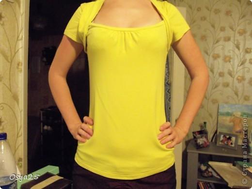 Вот такая у меня была футболка! фото 1