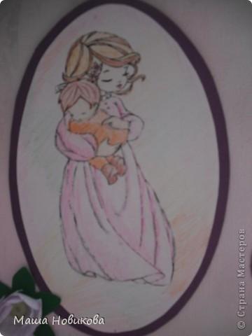 Эта открытка для моей сестры у которой родилась дочка. фото 4