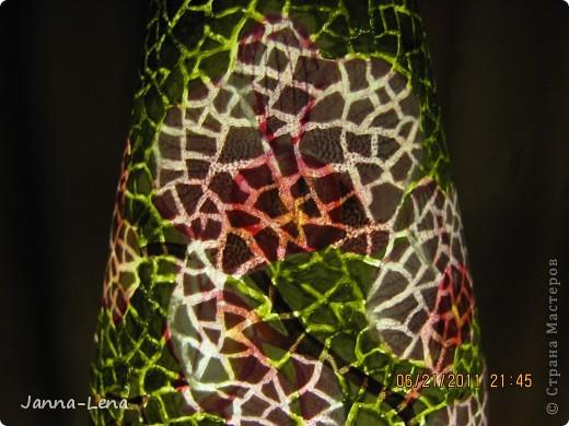 Бутылка с орхидеями. фото 3