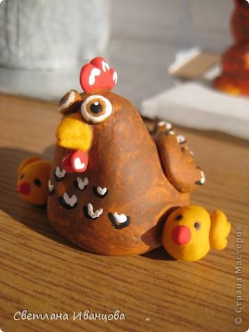 курочки с цыплятками. почти как у Светлячка http://stranamasterov.ru/node/180318 фото 10