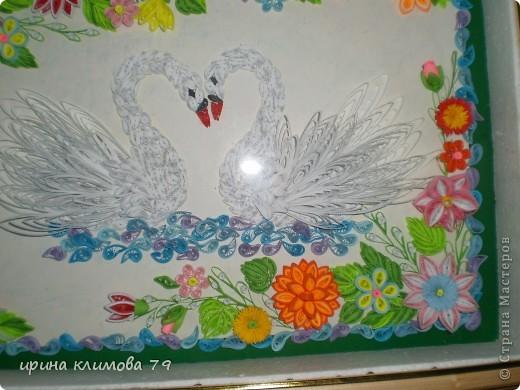 мои лебеди. спасибо, Lidia B, огромное за идею.  фото 2