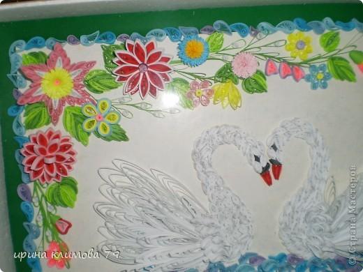мои лебеди. спасибо, Lidia B, огромное за идею.  фото 3