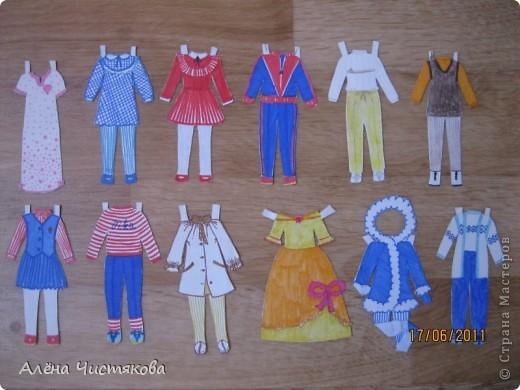 Бумажные Куклы, им 30 лет. фото 5